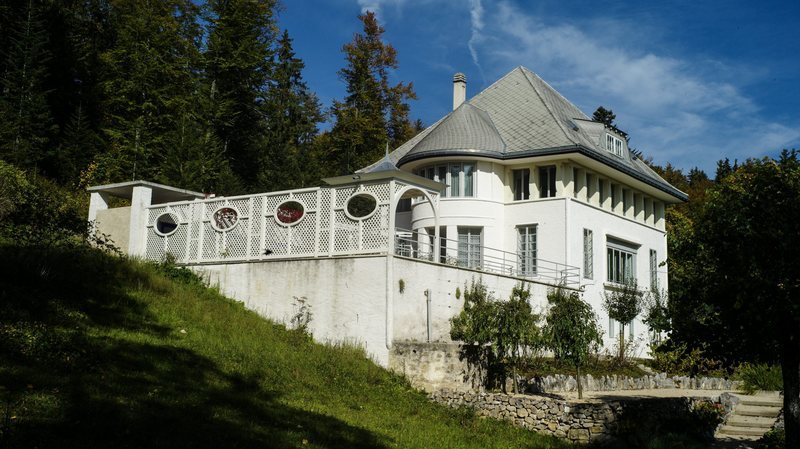 La Maison Blanche du Corbusier à la Chaux-de-Fonds a été retirée du dossier de candidature.