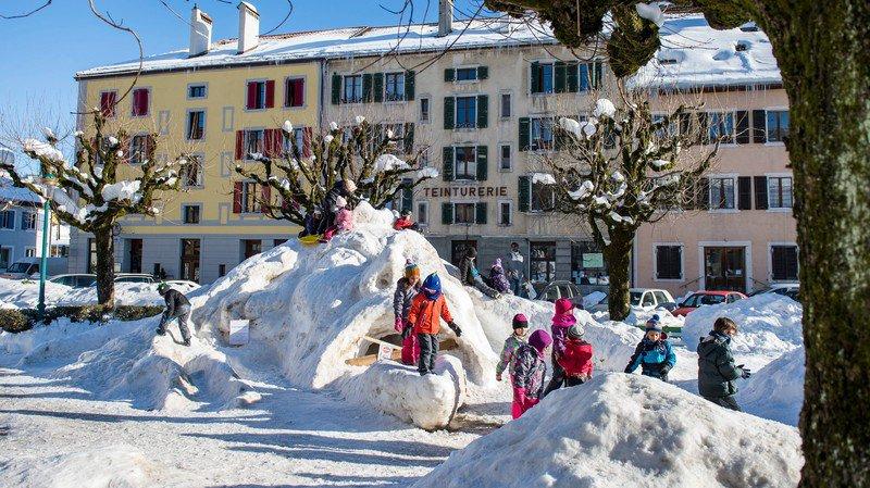 L'édition 2016 du concours de sculptures de neige n'aura pas lieu.