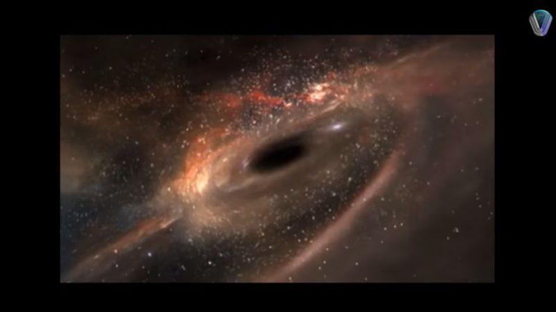 Ce trou noir, le plus massif connu à ce jour, selon les scientifiques, s'est formé environ 900 millions d'années après le 'Big Bang'.