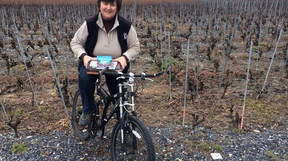 Dominique Fournier, présidente du Village suisse du livre, a été séduite par cette activité.      LE NOUVELLISTE
