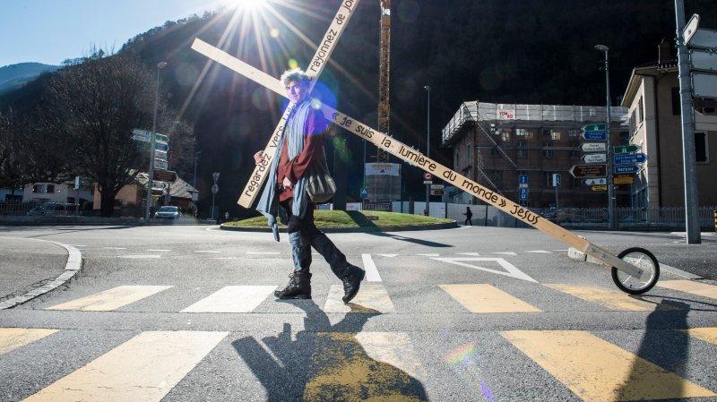 En 2015, Olivier Taramarcaz avait déjà fait une marche similaire à travers le Valais.