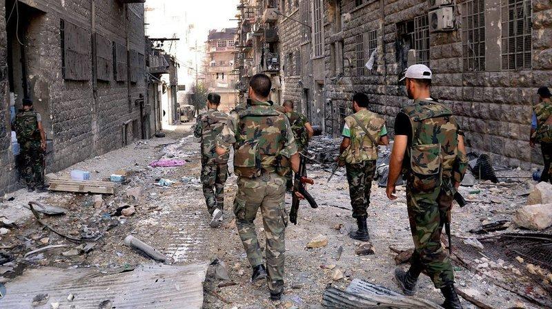 Soutenu par des frappes russes et des milices soutenues par l'Iran, le régime syrien élimine progressivement toute opposition armée autour de la capitale par le biais d'offensives militaires. (Illustration)
