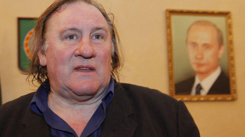 Gérard Depardieu est devenu citoyen russe il y a plus de deux ans sur intervention du président Vladimir Poutine.