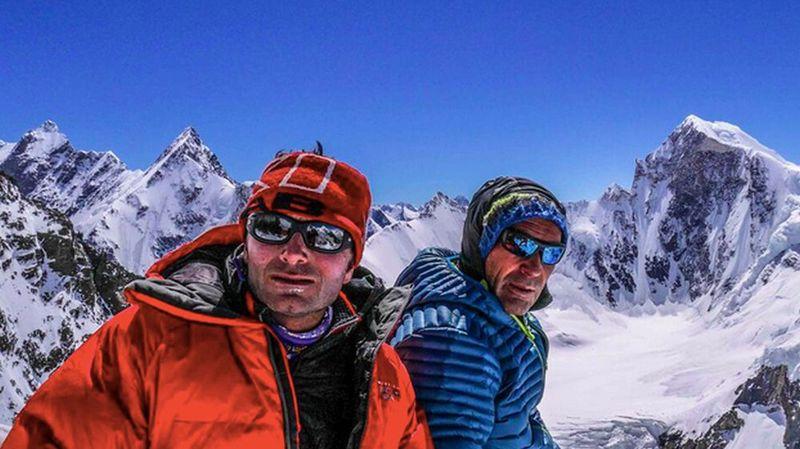 Fred Roux, le guide de Verbier, et Mike Horn sont aujourd'hui de retour en Suisse.