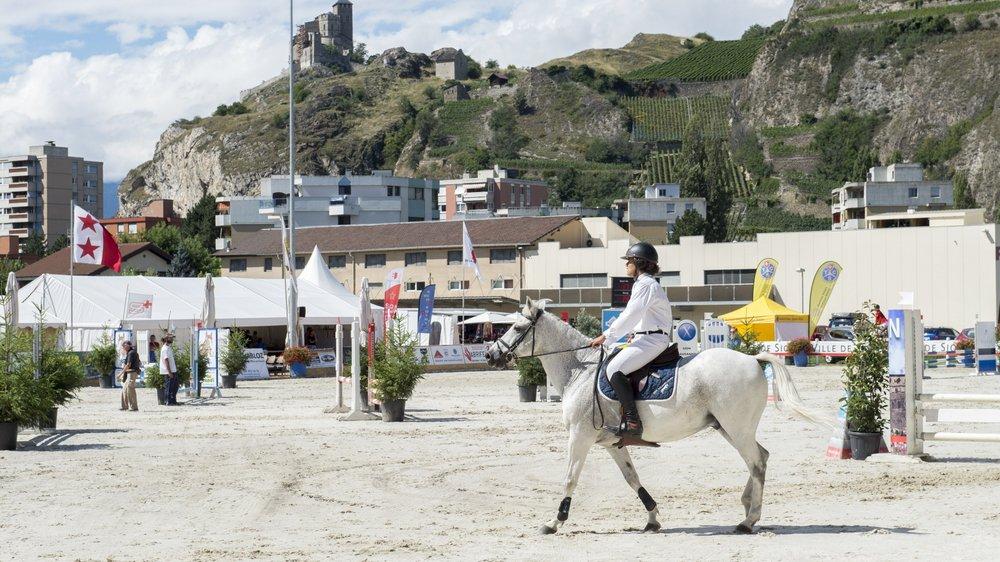 Avec plus de 300 cavaliers engagés sur cinq jours de compétition, le concours de Sion se porte bien.      SACHA BITTEL