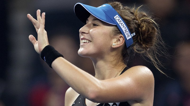 Belinda Bencic a battu l'Italienne Sara Errani très facilement. (photo d'archive)