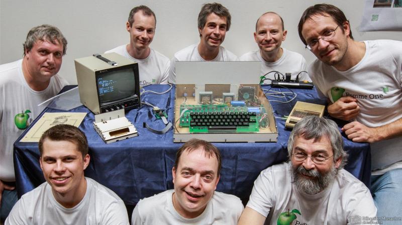 Les amis du Musée Bolo ont mené à bien leur projet de fabriquer une réplique d'Apple 1 en état de marche.
